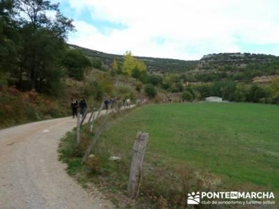 Cañones y nacimento del Ebro - Monte Hijedo;federacion de montaña de madrid;mochila de senderismo